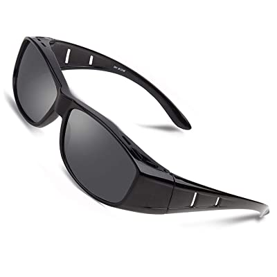 Over glasses sunglasses Polarized/fit over Pres...
