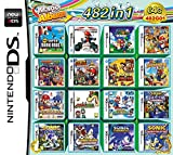 482 Games in 1 NDS Game Pack Card Super Combo Cartridge for NDS
