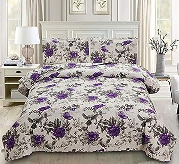 Best purple floral bedding Reviews