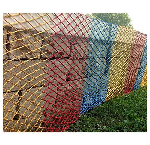 HJRD Child Safety Net, Garden Decoration Fence Net, Nylon Rope Woven Net, Balcony Protection Net, Cat Net, Cargo Net, Stair Anti-fall Net,1 * 4m(3 * 13ft)