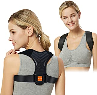 Posture Corrector for Men Women-Adjustable Back Brace Posture Clavicle Spine Back Shoulder Brace Corset Support Belt Breathable Back Straightener (Universal)