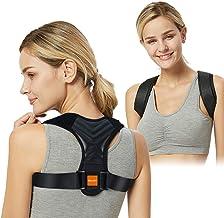 Posture Corrector for Men Women-Adjustable Back Brace Posture Clavicle Spine Back Shoulder Brace Corset Support Belt Breat...