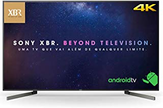 """Smart TV LED 85"""" Sony XBR-85X905F 4K HDR com Android, Wi-Fi, 3 USB, 4 HDMI, X-tended Dynamic, X-Motion Clarity X-Reality PRO"""