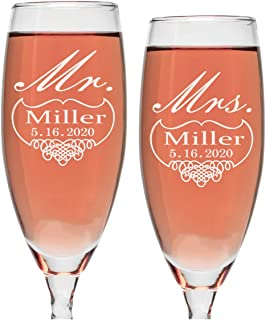 Best ruby wedding champagne glasses Reviews