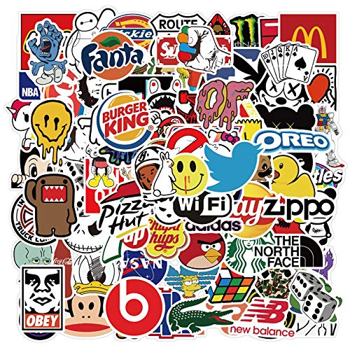 Personalized cartoon tide brand graffiti stickers mobile phone skateboard luggage waterproof stickers 100PCS
