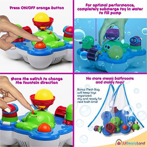 Baby Bath Toys for Kids Whale Island Bathtub Bathtime Fun... Best Toy Set