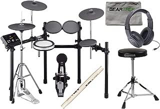 Yamaha DTX532K Electronic Drum Set w/Kick Pad and Hi-Hat Stand, Headphones, Thro