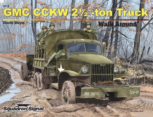 GMC CCKW 2½ Ton Truck - Armor Walk Around No. 18