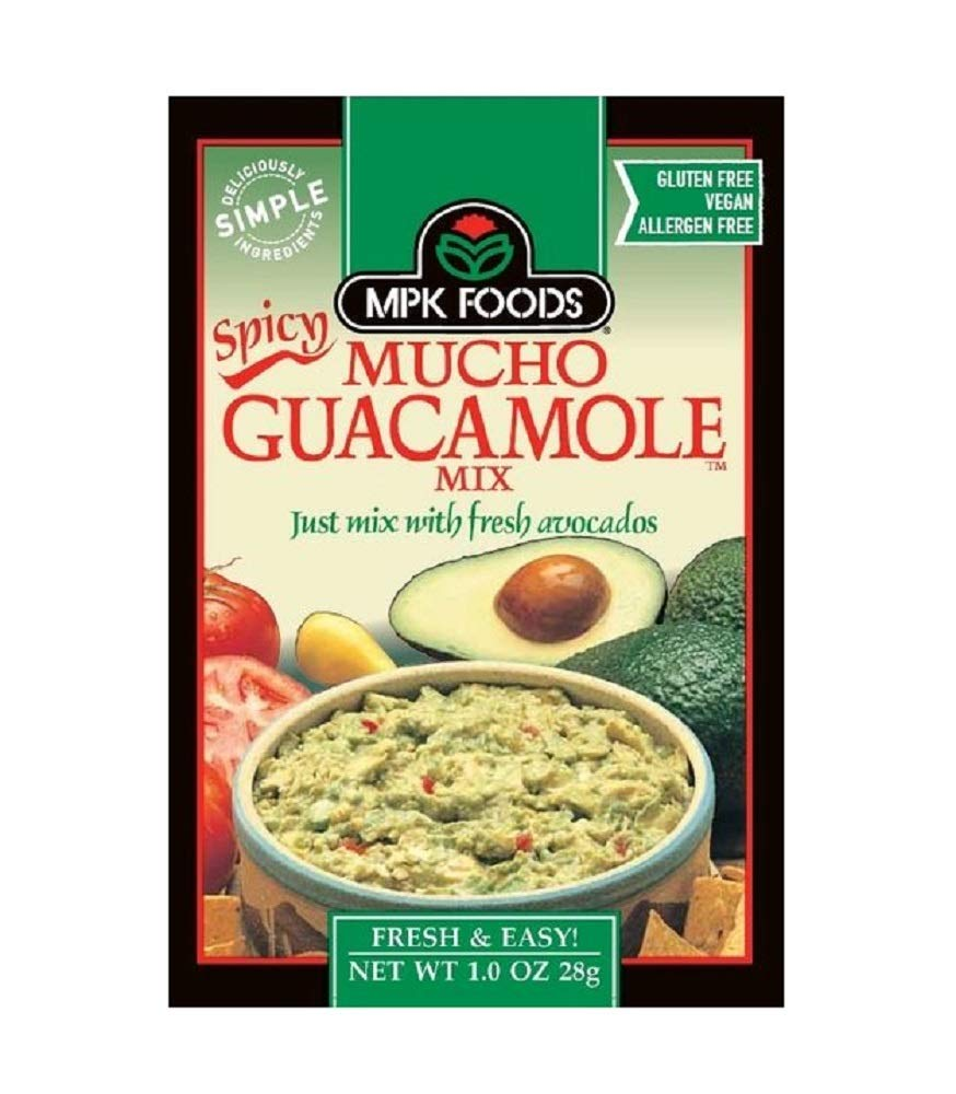 Bundle Excellent of 25% OFF 8 SPICY MPK Guacamole Mucho packets Mix