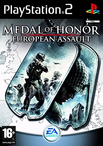 Electronic Arts Medal of honor: european assault, PS2