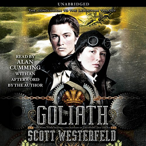 Goliath audiobook cover art