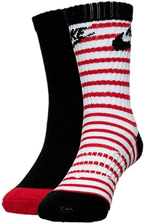 Nike Boy`s High Crew Socks, 2 Pack