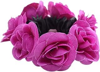 2stk Blumen Haargummi Zopfgummi Gummiband Pferdeschwanz Haarschmuck