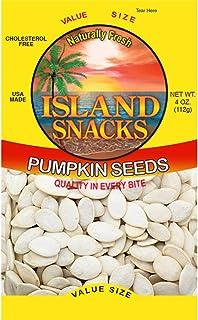 Island Snacks Pumpkin Seeds, 4-Ounce (Pack Of 6)