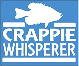 EZ-STIK Crappie Whisperer Sticker J890 6 inch Fishing Decal