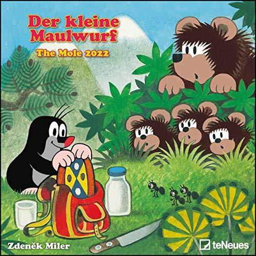 Der kleine Maulwurf 2022 - Wand-Kalender - Broschüren-Kalender - 30x30 - 30x60 geöffnet - Kinder-Kalender: The Mole