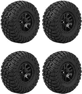 Semme Neumático de RC, neumáticos de Goma del neumático de la Rueda de 4PCS 110m