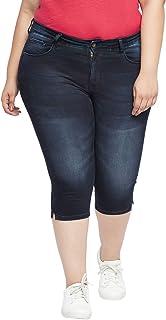 All Women's Capri Jeans (1001879139_Dark Indigo_0)