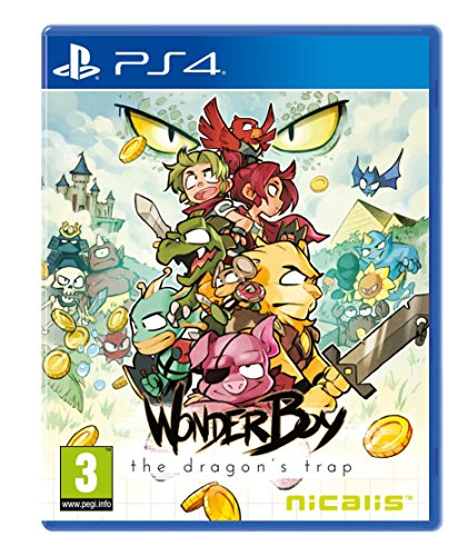 Wonder Boy: The Dragon's Trap - PlayStation 4 [Importación francesa]