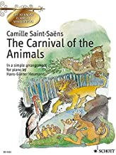 The Carnival of the Animals: In a Simple Arrangement for Piano
