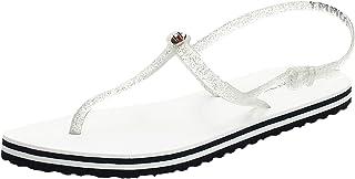 Tommy Hilfiger Irredescent Flat Beach Sandal womens Women Fashion Sandals