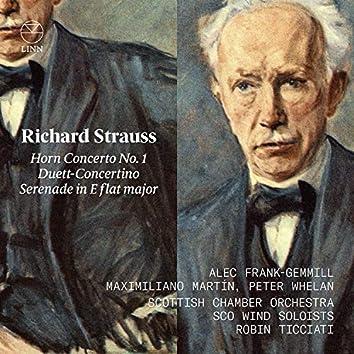 Strauss: Horn Concerto No. 1, Duett-Concertino & Serenade in E flat major
