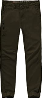 MADHERO Men's Slim Fit Trousers Casual Jogger Tapered Chino
