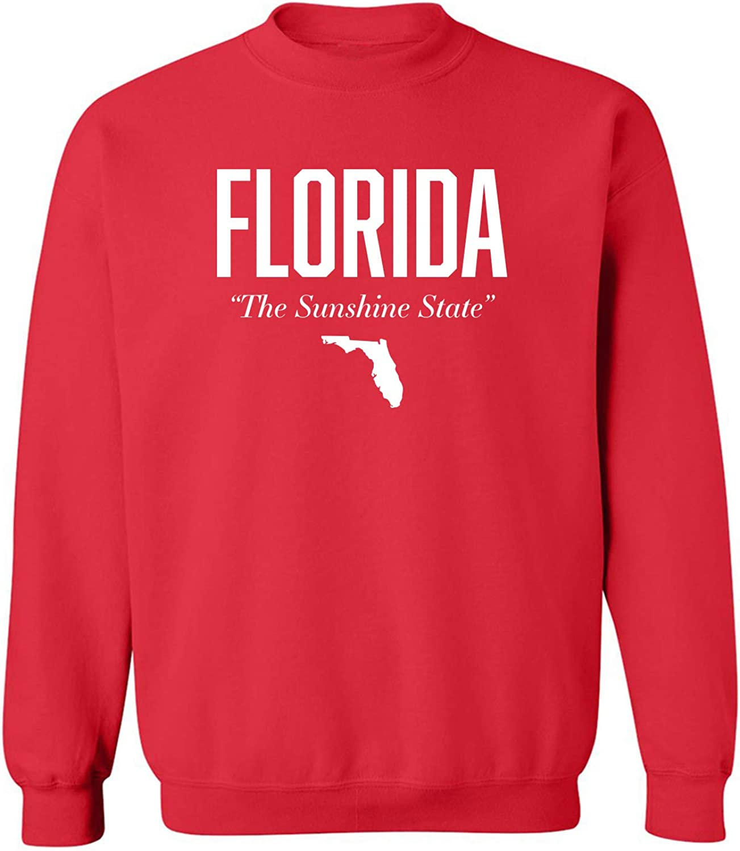 Florida The Sunshine State Crewneck Sweatshirt