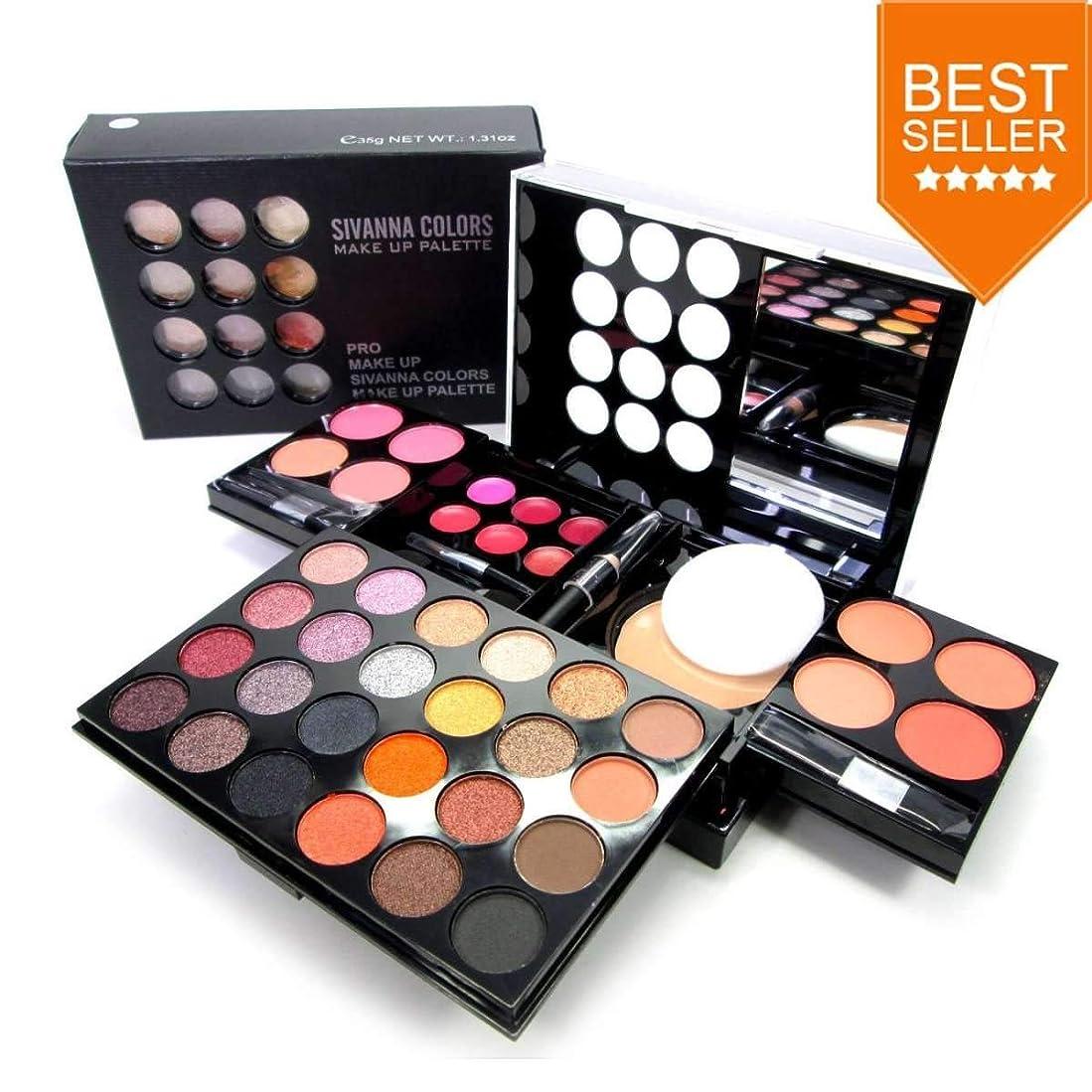 最後に未就学倉庫Sivanna Colors PRO MAKE UP PALETTE DK212 3 in 1 Make-up Palette Set #1