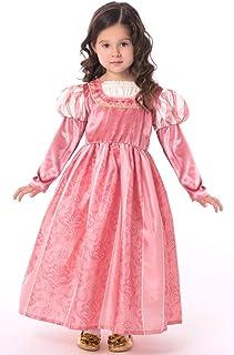 Little Adventures Coral Renaissance Princess Dress Up Costume for Girls