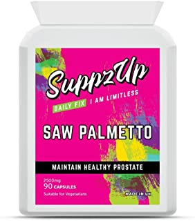 Suppzup 2500mg Saw Palmetto 90 Capsules90 Units