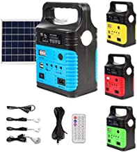 UPEOR Portable Solar Generator with Panels, Solar Powered Electric Generator Kit,Electric Generator,Solar Power Station