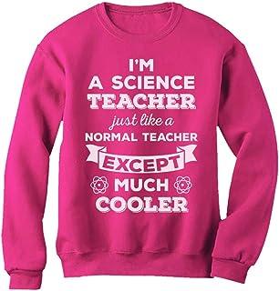 Tstars Science Gift for Teacher Funny Chemistry Women Sweatshirt