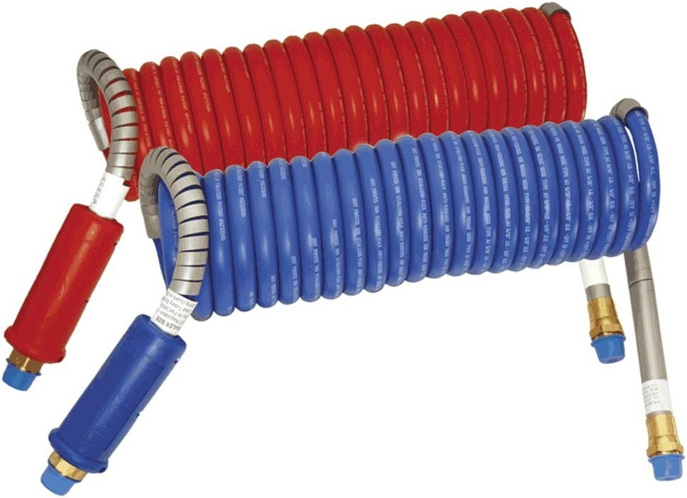Stallion Combo Blue Red Power Air Brake - Com Lines Coiled Super intense SALE Large-scale sale