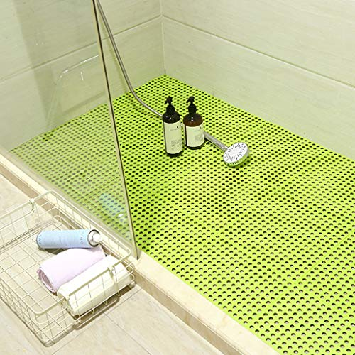 Best Review Of Bath mats antiscivolo Absorbent Floor Mat Stitching Shower Room Bathing Water Hollow ...