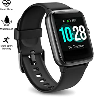 Fitness Tracker Watch with Heart Rate and Sleep Monitor - Activity Tracker Waterproof Smart Wristband Watch, Step Calorie Counter, Pedometer Android iPhone Compatible for Women Men Kids