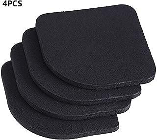 Yosoo 4Pcs Anti-Vibration Pads Universal Rubber Silent Feet Pads for Washing Machine Refrigerator Home Appliance