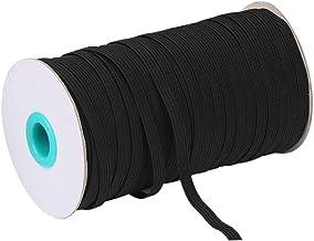 Meirrai White Elastische Sewing Thread 9mm Gladde Afwerking voor Breien, Ambacht en Handicraft Accessoires, Kleding, 100 y...