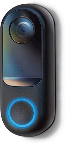 2021 Home sale Zone Security Doorbell Camera - lowest Smart 2.4GHz 1080P Hardwired Doorbell Camera, No Subscription Required (for Wired Doorbell Systems with Mechanical Chime) sale