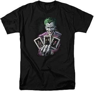 Joker Holding Cards DC Comics T Shirt & Stickers