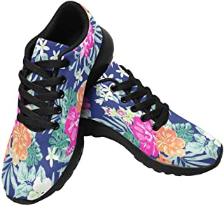 Womens Jogging Sneakers Outdoor Sport Cross Training Shoes Hot Leopard Skin Background
