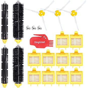 DingGreat Accesorios de Repuesto para iRobot Roomba 700 Serie Kit de Recambios para iRobot Roomba 700 720 750 760 765 770 772 772e 774 775 776 776p 780 782 782e 785 786 786p 790: Amazon.es: Hogar
