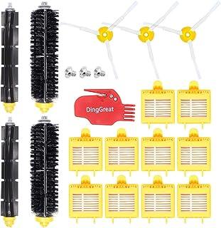 DingGreat Accesorios de Repuesto para iRobot Roomba 700 Serie Kit de Recambios para iRobot Roomba 700 720 750 760 765 770 772 772e 774 775 776 776p 780 782 782e 785 786 786p 790