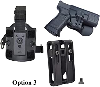 Tactical Scorpion Gear:Fits Sig Sauer SP2022 Modular Level II Retention Paddle Holster