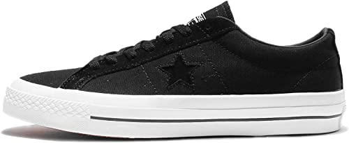 Converse Hommes's One Star Canvas OX, noir Almost, 11 M US