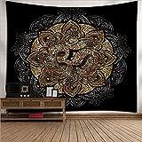 YDyun Tapiz De Tapices para La Sala De Estar Dormitorio Tapiz de Tela de Fondo de Arte de Plumas