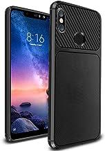 Ferilinso Funda para Xiaomi Redmi Note 6 Pro, Funda Protectora a Prueba de Golpes Flexible para Xiaomi Redmi Note 6 Pro (Negro)