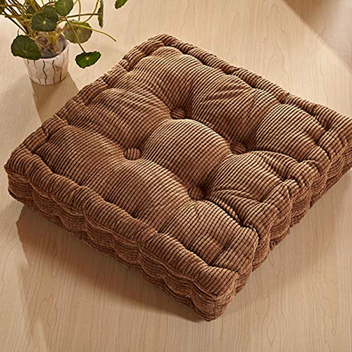 YXR Thick Corn Velvet Tatami Cushion, Office Chair Cushion, Sofa Cushion Fabric
