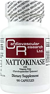 Cardiovascular Research Nattokinase with Vitamin Pqq, White, 90 Count