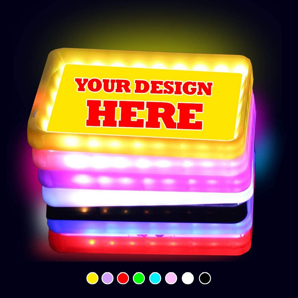 MOOD Special sale item TRAYS Design Your 100% quality warranty! Own LED Up Rolling 5 Tray Glow Light